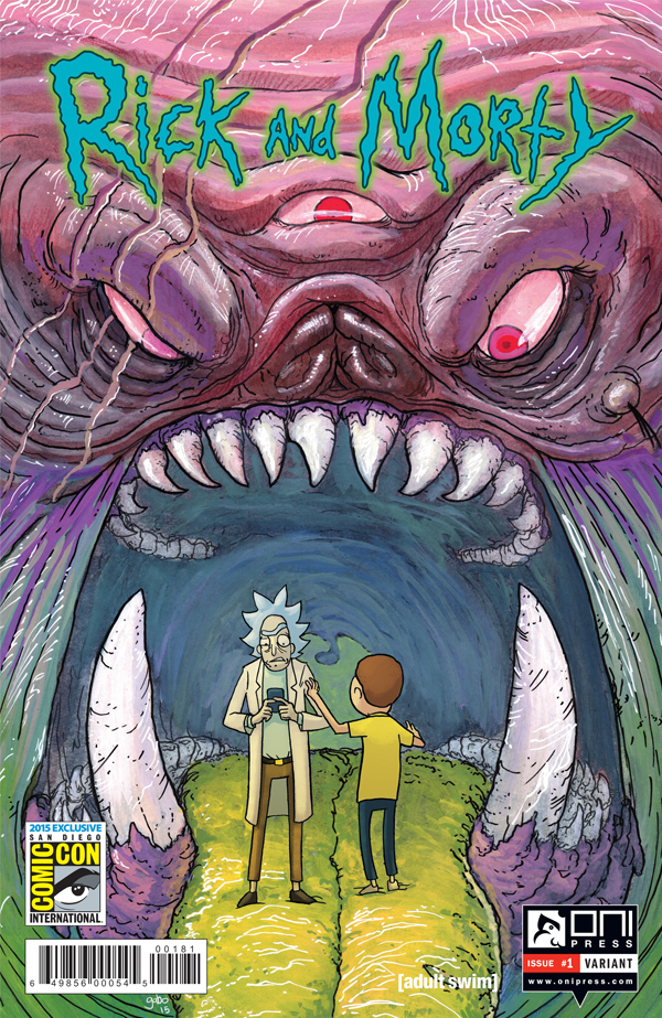 RICKMORTY #1 4x6 GABO VARIANT